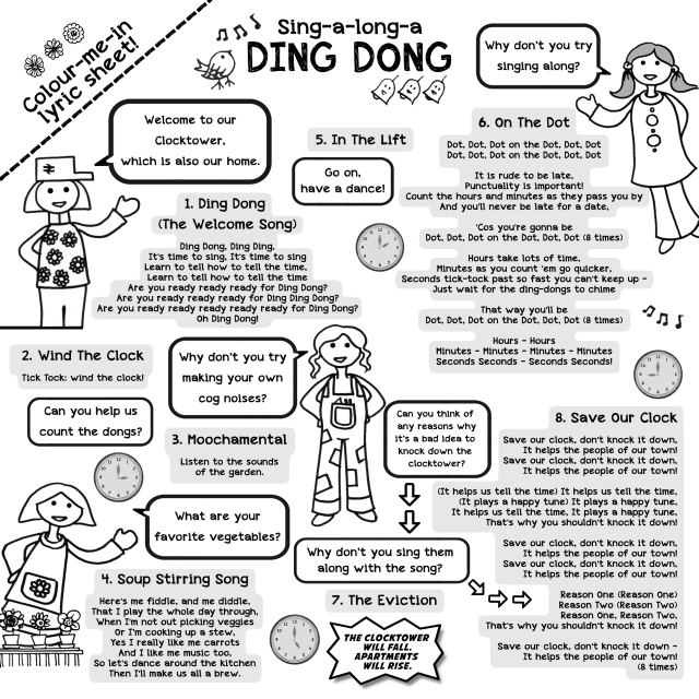 DING DONG CD LYRICS SHEET 2