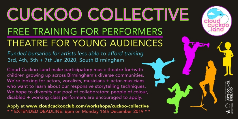 CUCKOO COLLECTIVE CALL-OUT - Extended Deadline